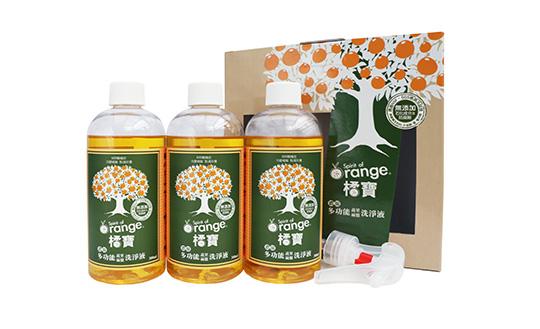 蔬果清潔劑_Gbao_orange_natural_fruit_dish_cleaner_taiwan_dietu