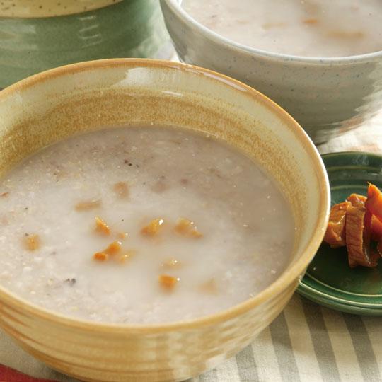潤腸-養胃-芋頭五穀鹹粥-Vitamix調理機-陳月卿