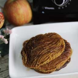 純素蘋果鬆餅_Vitamix_S30_調理機_甜點_大侑_陳月卿