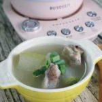 北鼎美顏壺輕鬆燉煮冬瓜薏仁排骨湯