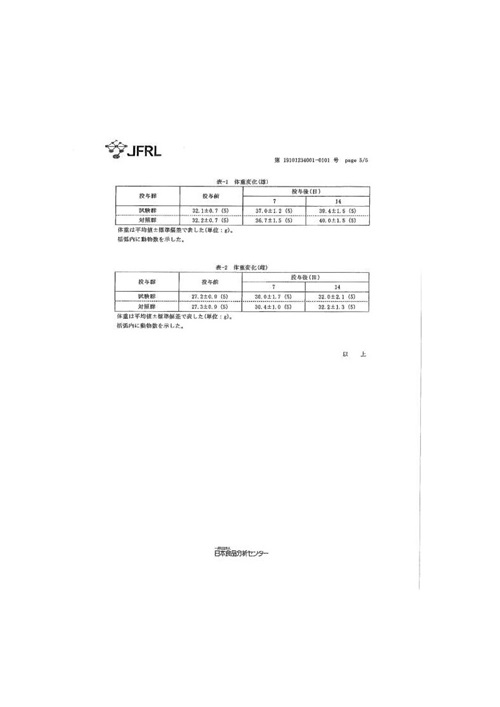 Vitaway沐浴氣認證-日本食品級亞硫酸鈣-無毒測試-5