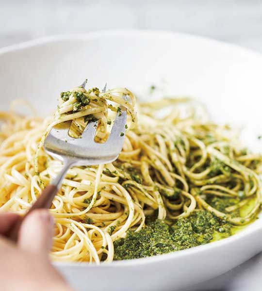 VitamixS30調理機-大侑料理-食譜-青醬義大利麵