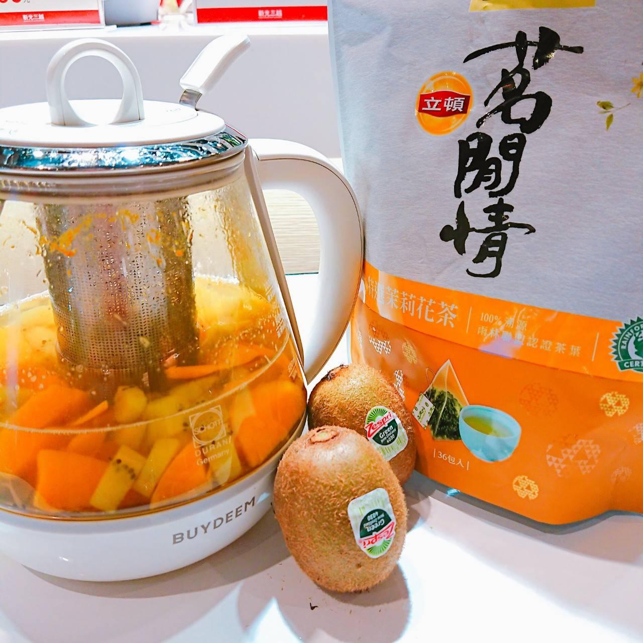 大侑-百貨分享會-Vitamix-北鼎One用壺-奇異果-茶飲