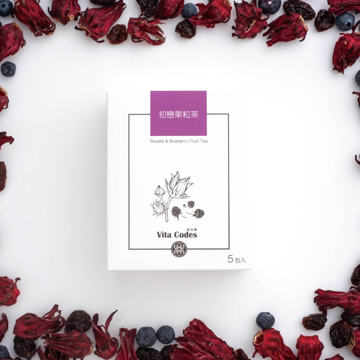 VitaCodes美顏茶-產品介紹04-1-初戀果粒茶