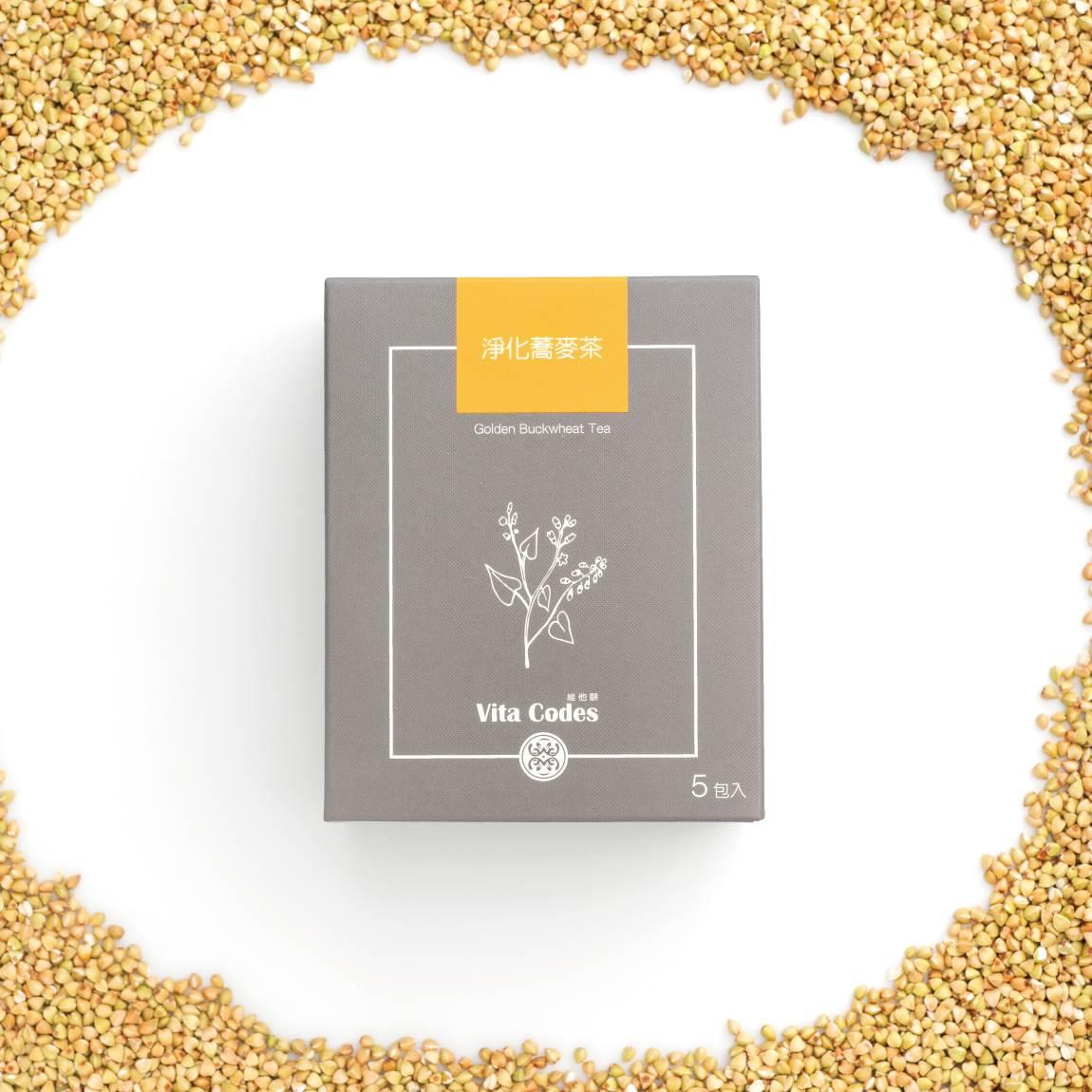 VitaCodes美顏茶-產品介紹04-3-淨化蕎麥茶