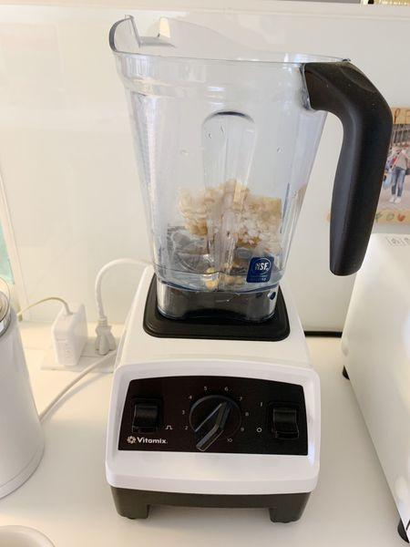 Vitamix-調理機-大侑-E320-綠拿鐵-鮮凍包-豆榖漿